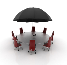 corporate umbrella graphic