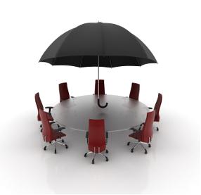 corporate umbrella graphic